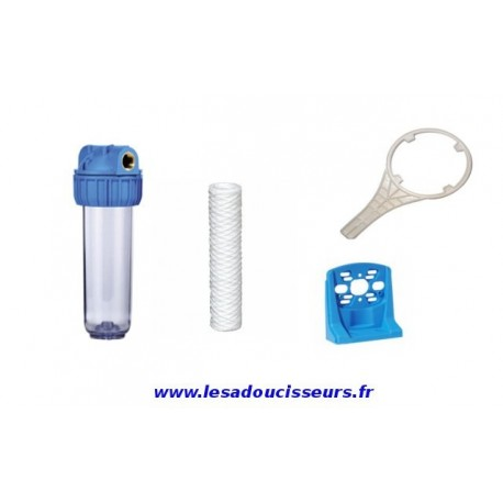 Pack porte filtre simplex complet