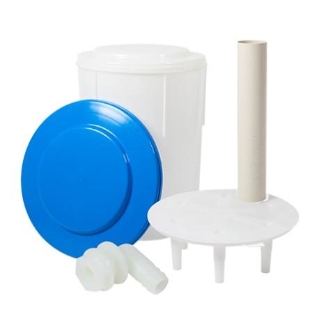 Bac à sel 80 litres équipé flotteur sécurité